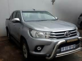 Toyota Hilux For Sale 2016 Toyota Hilux Cab For Sale Meyerton Co Za