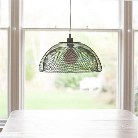 metal mesh l shade wire mesh l shade by grattify notonthehighstreet com