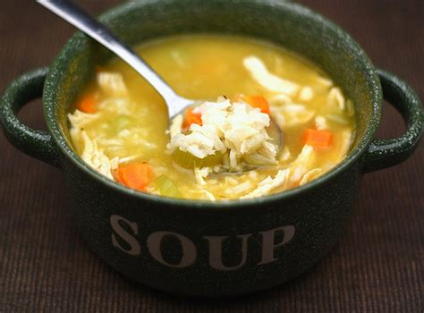 chicken soup with rice easy chicken and rice soup recipe two peas their pod