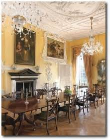 Regency Dining Room Easton Neston With Architectural Digest Henrietta Spencer