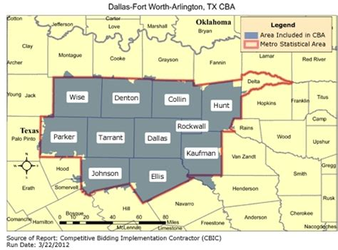 fort worth texas zip code map cbic 1 recompete competitive bidding area dallas fort worth arlington tx cbic