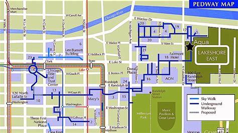 chicago pedway map pedway swissotel