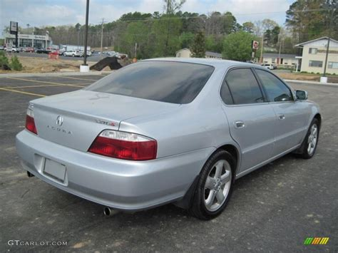 satin silver metallic 2002 acura tl 3 2 type s exterior