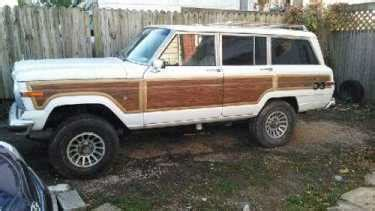1991 jeep wagoneer hybrid white wood for sale on craigslist used cars for sale