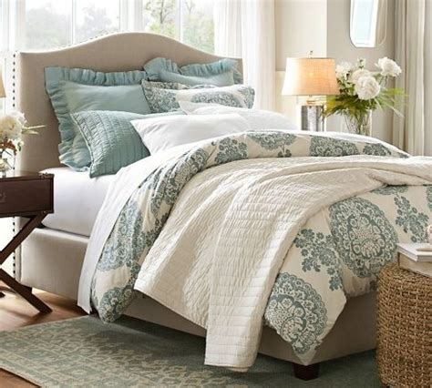 pottery barn bedroom ideas breathe tranquility into your bedroom with cool blues