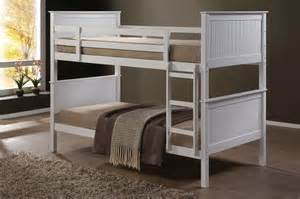 bunk beds with mattress jade fixed ladder white king single bunk beds nz