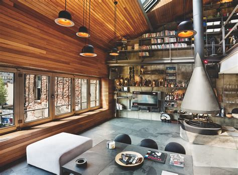 www home designing com karakoy loft uses rich wood features and creative