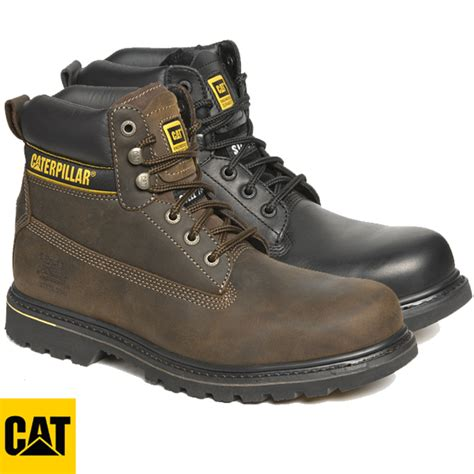 Caterpillar Solid Boots Safety caterpillar holton safety boot 7040 7041