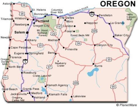 map of oregon mountain ranges cascade mountain range oregon map