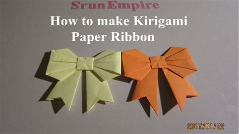How To Make A Origami Ribbon - origami paper ribbon images craft decoration ideas