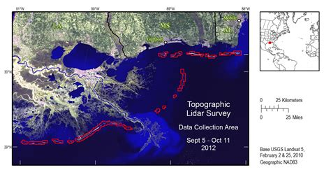 louisiana barrier islands map usgs data series 839 topographic lidar survey of the