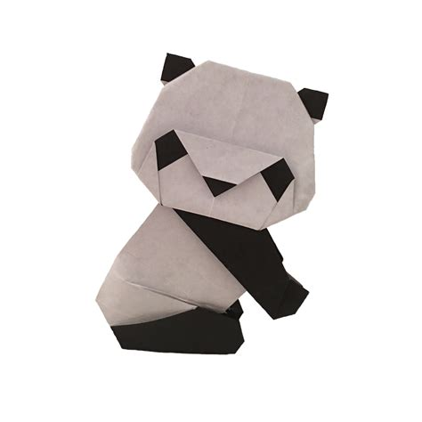 Origami Pandas - an origami panda is just as as a real one origami