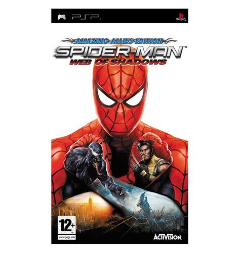 emuparadise spiderman spider man web of shadows usa iso