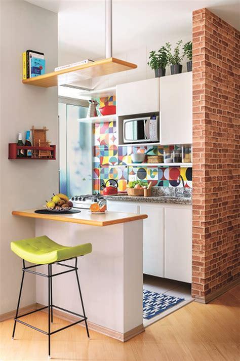 kitnet decorada cozinha americana foto cozinha americana de ana camila vieira 1444141