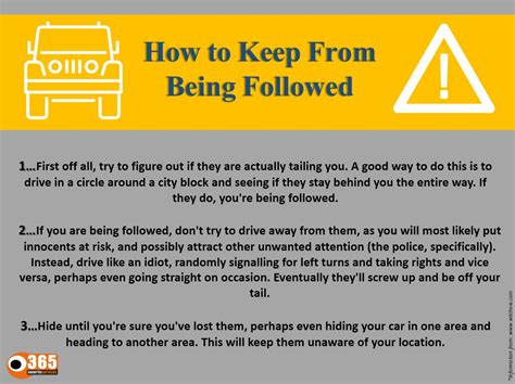 what to do if you are being followed 20 lessons on how to protect yourself and stay alive if you believe you are being followed by a mysterious books safety tips 365 security services