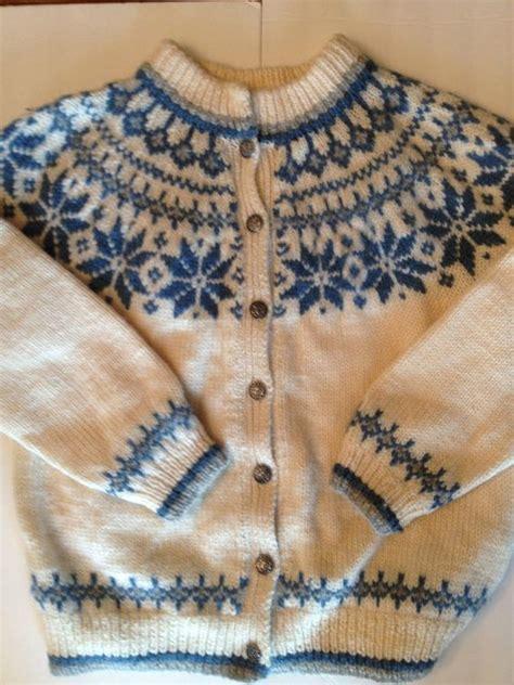 knitting pattern norwegian sweater vintage scandinavian dale of norway wool sweater cardigan
