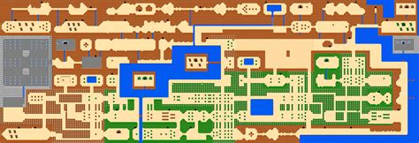 Legend Of Zelda World Map | the legend of zelda world maps