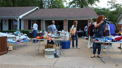 13 steps to a successful garage sale shawnee ok real estate
