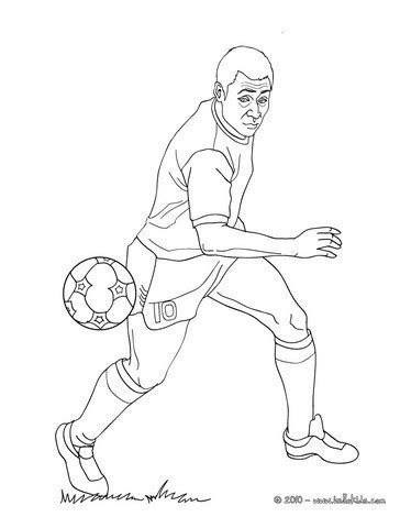 pel 233 playing soccer coloring pages hellokids com