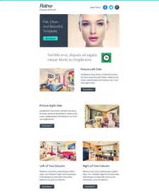 free responsive newsletter template 20 best flat style responsive email templates designbeep