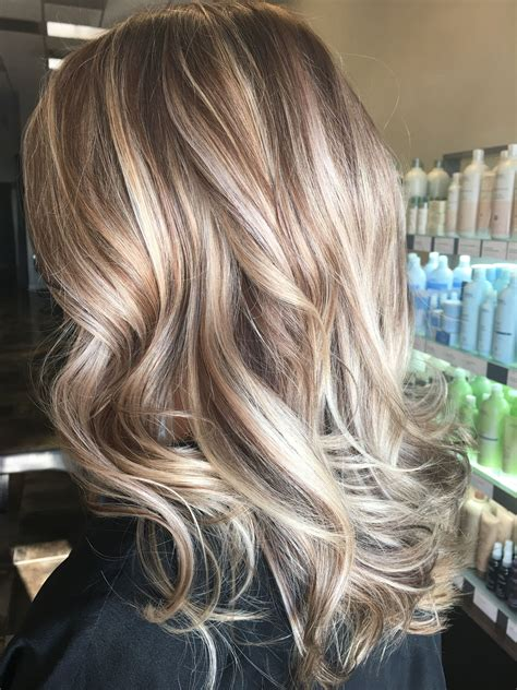 hairstyles with high and low lights beautiful fall winter high and low lights hair