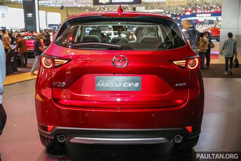 giias 2017 second mazda cx 5 launched in indonesia