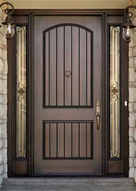 Front Door Knockers With Peephole Grooved Panels Plain No Knocker Add Peephole Front Door Fiberglass Entry Doors