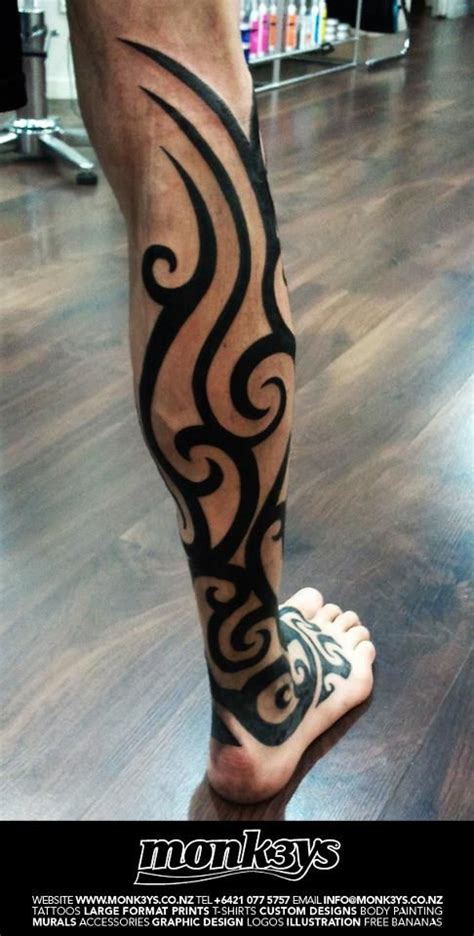 tribal tattoos for men legs 17 best ideas about s leg tattoos on
