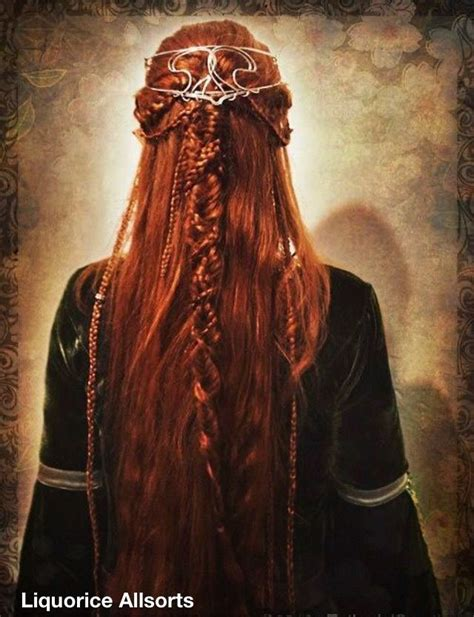 scottish braid celtic braid hair pinterest