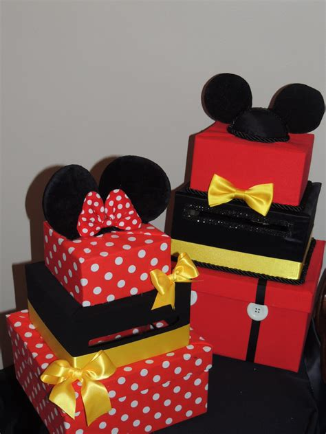 Mickey Mouse Birthday Decorations by Mickey Mouse Card Box Mickey Mouse Decorations