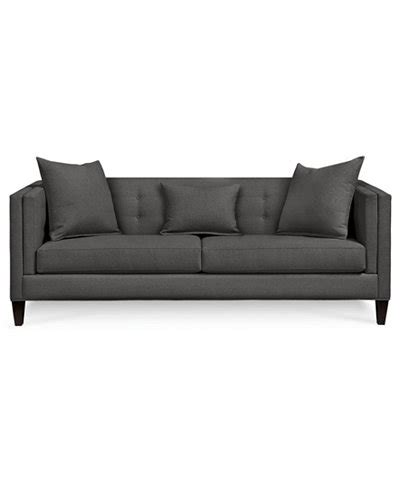 kaleb tufted leather sofa collection sofa macys kaleb tufted leather sofa created for macy s