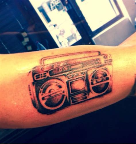 boombox tattoo boom box tattoos and