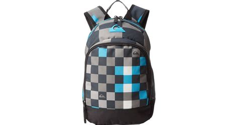 Tas Quiksilver Big Check Blue quiksilver chompine backpack in blue for checks