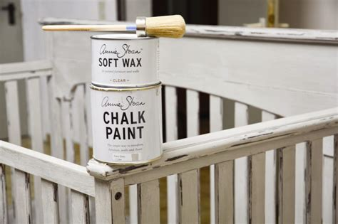 how to paint a baby crib with sloan chalk paint