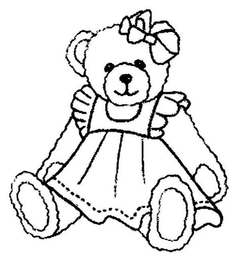 teddy bear with rose coloring page beautiful teddy bear coloring page color luna
