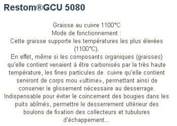 Graisse Au Cuivre 6462 by Echappement D 233 Pose Collecteur