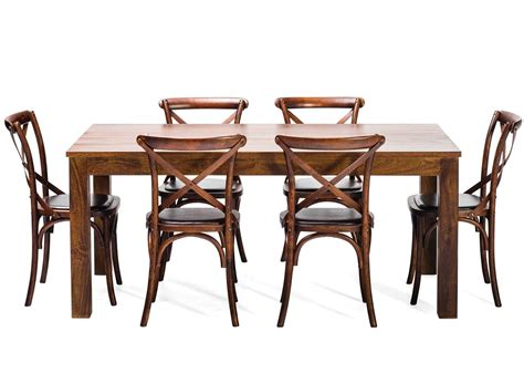 farmhouse dining table and chairs ebay modern scandinavian