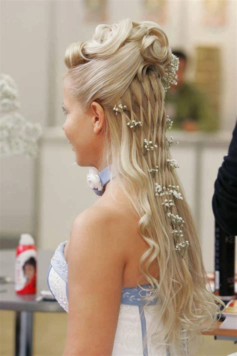 hairstyles for prom and homecoming long blonde hairstyle for prom and homecoming homecoming