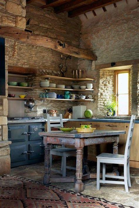 outdoor rustic outdoor kitchen designs cottage kitchens 43 kitchen design ideas with stone walls decoholic