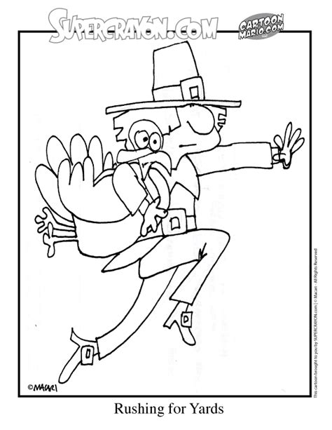 football turkey coloring page turkey coloring pages
