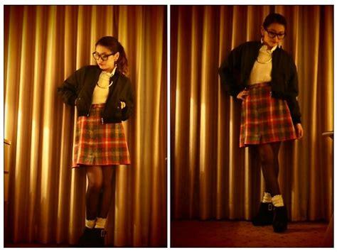 Jumper Check Skirt chiro cheap monday stadium jumper vintage check skirt