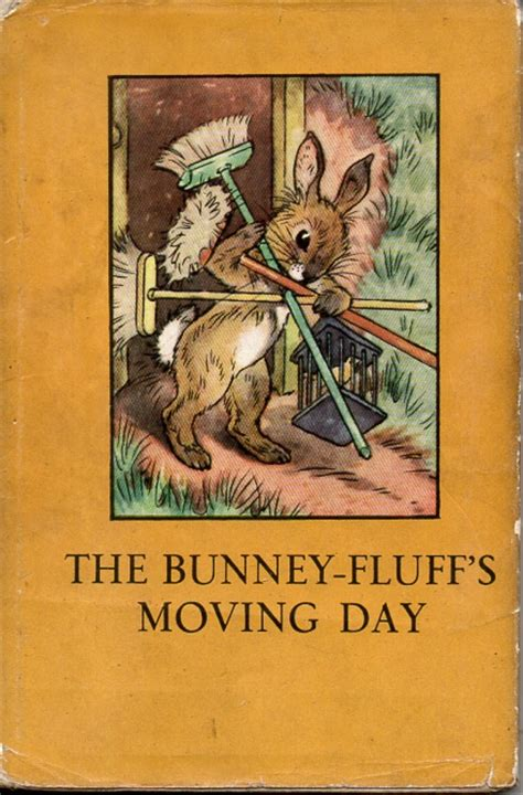 the animal rhyme books the bunney fluffs moving day vintage ladybird book animal