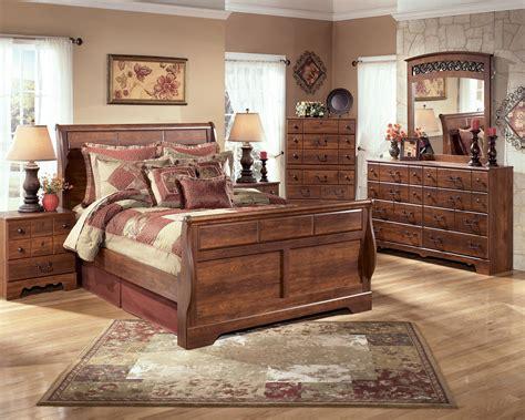 signature design  ashley timberline queen bedroom group