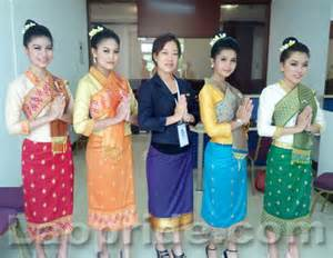lao pride forum lao women in traditional clothes
