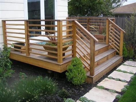 Horizontal Deck Railing The Advantages And Disadvantages Patio Deck Railing Designs