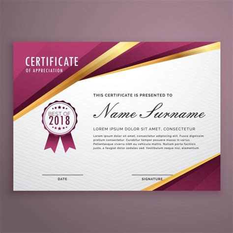 Certificate Of Appreciation Template Psd Free by Honor Vectors Photos And Psd Files Free