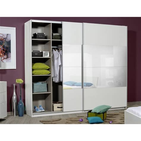 Optimus   large black gloss wardrobe with sliding doors and mirror   Wardrobes   Sena Home Furniture