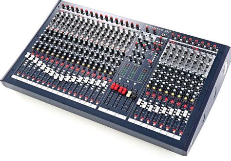 Mixer Soundcraft Spirit Lx7 24 Cnl soundcraft lx 7 ii 24 thomann