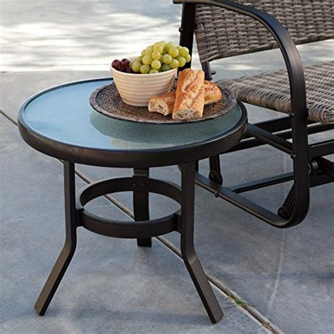 Coral Coast Del Rey 20 In Patio Side Table Tables Small Patio Side Tables