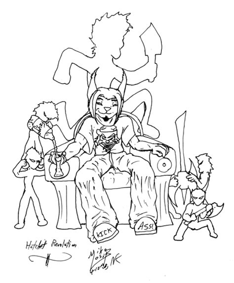 insane clown posse free coloring pages